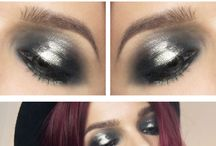 Halo Eye Make up