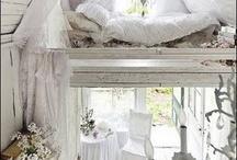 lofts, nooks, rooms, crannies / by Tiffany Howard