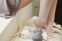knit & purl. / by annie francesca c