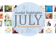 Style Dare inspiration / Readers' looks from our Fox in Flats Style Dares / by Andrea @FoxInFlats