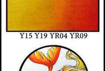 Copic - Yellow/Orange