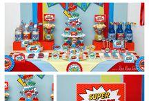 Party fête super héros