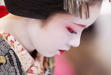 Geisha / Maiko / Geiko / Oiran / Tayuu / Japanese Beauties / by Bonnie Stevens