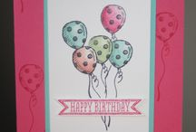 SU! Birthday Cards / by Mary Lou Rimmele Kleveland