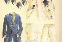 Early 18th century men's costume