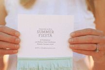 invitations / by Lyndsey Wells