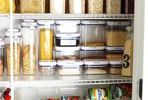 Pantries / pantry organization, food organization, small space organization, kitchen organization, pantry goals, kitchen goals, meal planning, organized life, organized mom, professional organizer.