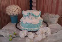 Frozen inspired cake for sweet daughter / cake