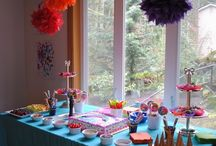Birthday party ideas! / Baby C's first birthday- My Little Pony