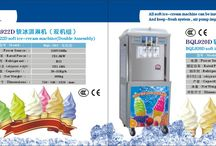 """Huasheng Economy Series Soft & Hard Ice Cream Machines / """"Excellent Design, Quality Equipment, Chinese Price"""" Projects - AutoCAD Designing - Custom Made Equipment-One Stop Purchasing Bars, Restaurants, Konditorei, Coffee Shops, Supermarkets, Store Chains,  Patisseries, Kiosk, Cake shop, Frozen Yogurt Shops, Hotels, Mall Center etc."""