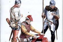 Armády středověkého Burgundska/Armies of medieval Burgundy / 14.-15. století