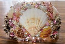 Etsy sale / Handmade hair jewellery, mermaid crowns