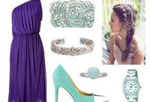 combinatii rochie+pantofi