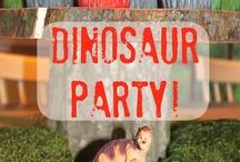 Dino Party \0/ / by Priscila Kuhn