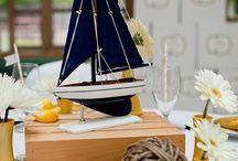 nautical/coastal wedding theme