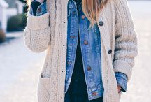 Winter Style / Winter Style, Winter Outfit Inspiration, Cold-Weather Style, Winter Fashion, Casual Winter Outfits