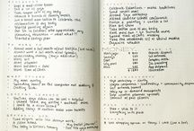 Bujo monthly reviews
