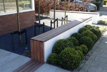Terras tuin ideas