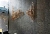 墙面艺术品