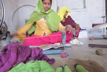 Rangsutra / Rangsutra is a company of artisans from remote regions of India – the deserts of Rajasthan, hill regions of Uttaranchal and Assam.  Customer of Women on Wings since 2008
