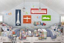 Kreatív fiú szobák