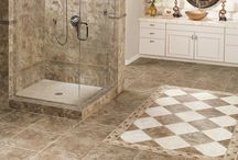 Piles of Tiles / Ceramic is fashionable and practical with its natural look, beautiful designs, and durability. Ceramic tile is available in an infinite number of colors, sizes, shapes, and finishes, so there is no limit to the beautiful, personalized designs you can create.
