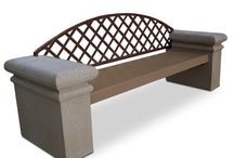 Concrete Benches / Durable concrete benches that are designed to endure any weather conditions and require very little maintenance.These stylish benches are inherently theft proof due to their weight; allowing for peace of mind that your benches will not be stolen or moved.