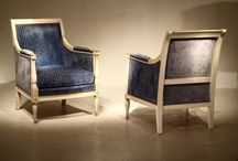 PAIRS OF CHAIRS & SOFAS / Here we show you some great examples and different styles of pair of chairs that are or have been for sale on the Decorative Collective.