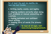 Dysgraphia / Writing Issues