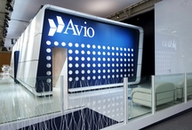 AVIO GROUP Bespoke Stand  @ Airshow Le Bourget (Paris)