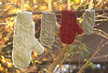 Mittens & Gloves / Favourite patterns to keep our hands warm. / by Sweet Paprika Designs
