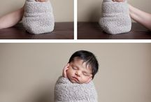 Newborn Posing Ideas / by Fawn Stith