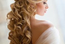 Hair style wedding fashion ideas tips / Hair styles