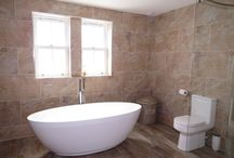 Bathroom Ideas / Beautiful bathrooms in our homes for sale!
