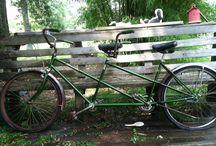 Vintage Bike / Vintage Schwin Tandem Bike - A Work in Progress  / by Louanne Powell