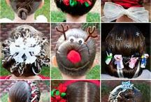 chritstmas hairstyles