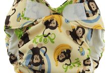 Blueberry Newborn Cloth Diaper / Adorable and unique cloth diapers made specifically for newborn babies