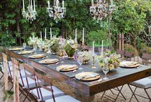 Outdoor dining/picnic inspiration
