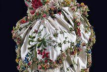 XVIII w Suknie, detale w sukniach