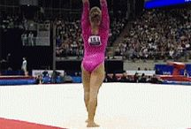 Gymnastics / My sister is very good at it!