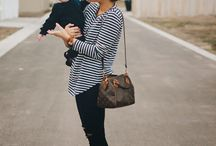mom style / Easy, cute outfit inspiration.