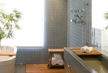 House - bathrooms / by Michelle Berkey