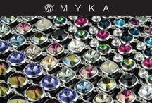 The many colours of Myka www.mykadesigns.com