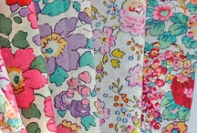 Fabrics I adore....