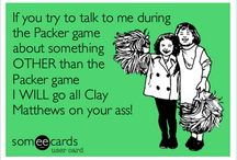 Green Bay Packers / by Kelly Grothe