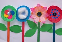 Preschool Flower Crafts / by Christy Price