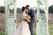 Décoration mariage vert eau et blanc