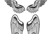 Szárny tetoválás