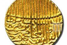 Coins of Nasir Al Din Mahmud Shah / Coins used during asir Al Din Mahmud Shah Rulership
