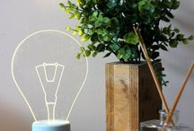 Clever Ideas and Products / We might love light bulbs more than the average joe, but we can't get enough of these fun ideas and products that involve water and electricity.